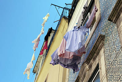 Claude Monet - Clothes hanging by Fabiano Di Paolo