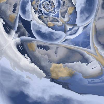 Painting - Cloud Formation by Michal Mitak