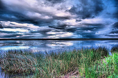 City Scenes - Clouds over Medicine lake by Jeff Swan