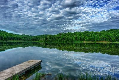 Staff Picks Cortney Herron - Cloudy Summer Morning at the Lake by Thomas R Fletcher