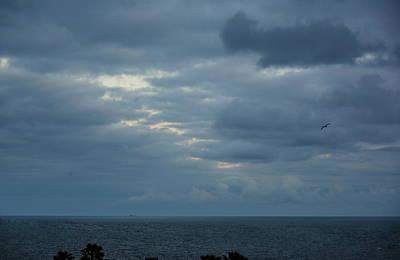 Photograph - Cloudy Sunset Off La Jolla by Russ Harris