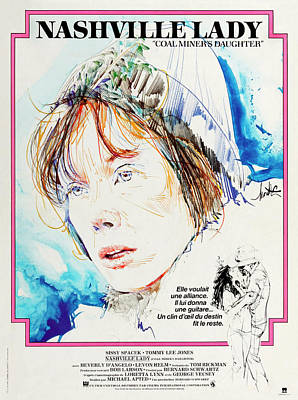 Royalty-Free and Rights-Managed Images - Coal Miners Daughter, 1980 by Stars on Art