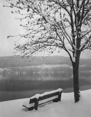 Photograph - Cold River by Marcio Faustino