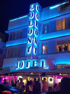 Travel - Colony Hotel by Bonny Puckett