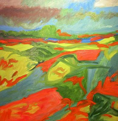 Painting - Color Field by Steven Miller
