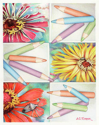 Design Pics - Color Patches by Amy S Turner