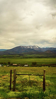 Landscapes Royalty-Free and Rights-Managed Images - Colorado Snowcap by Scott Perkins