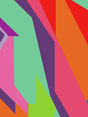 Royalty-Free and Rights-Managed Images - Colorful Abstract Pop Art 0106 by Ahmad Nusyirwan