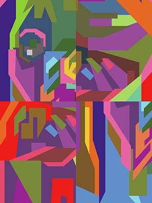 Royalty-Free and Rights-Managed Images - Colorful Abstract Pop Art 0113 by Ahmad Nusyirwan