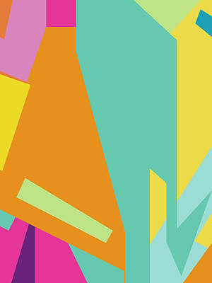 Royalty-Free and Rights-Managed Images - Colorful Abstract Pop Art 0125 by Ahmad Nusyirwan