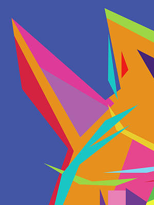 Royalty-Free and Rights-Managed Images - Colorful Abstract Pop Art 0131 by Ahmad Nusyirwan