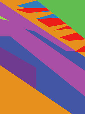 Royalty-Free and Rights-Managed Images - Colorful Abstract Pop Art 0132 by Ahmad Nusyirwan