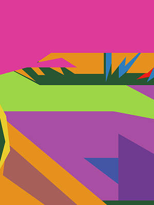 Royalty-Free and Rights-Managed Images - Colorful Abstract Pop Art 0135 by Ahmad Nusyirwan