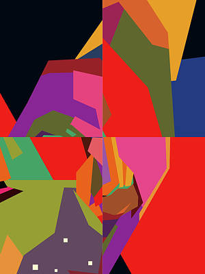 Royalty-Free and Rights-Managed Images - Colorful Abstract Pop Art 0163 by Ahmad Nusyirwan