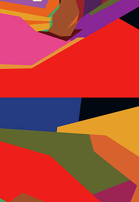 Royalty-Free and Rights-Managed Images - Colorful Abstract Pop Art 0171 by Ahmad Nusyirwan