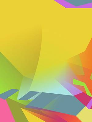 Royalty-Free and Rights-Managed Images - Colorful Abstract Pop Art 0177 by Ahmad Nusyirwan