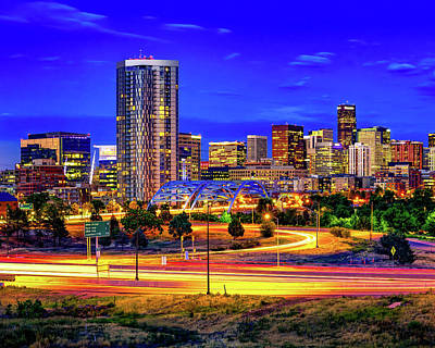 Royalty-Free and Rights-Managed Images - Colorful Colorado - Downtown Denver by Gregory Ballos