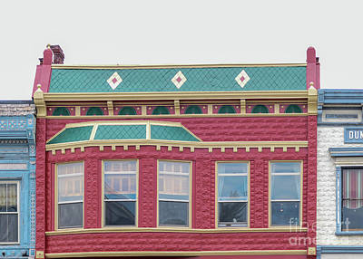 Modern Kitchen - Colorful town square building by Bentley Davis