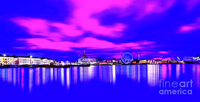 Design Pics - Colors from the Darkness at the Port of Helsinki by ParaKrytous P