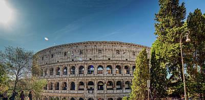 Comedian Drawings - Colosseum by Vivida Photo PC