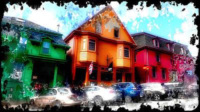 Photograph - Colours of Lunenburg by Mediamerge - Dan Roitner