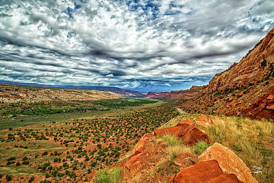 Photograph - Comb Wash And Ridge by Gestalt Imagery