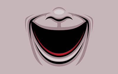 Royalty-Free and Rights-Managed Images - Comedy Theater Mask by John Schwegel