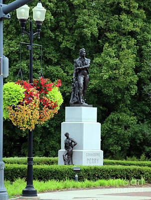 Book Quotes - Commodore Perry Statue Perrysburg Ohio 5366 by Jack Schultz