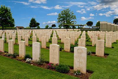 Purely Purple - Commonwealth War Cemetery, Cassino, Lazio, Italy by Joe Vella