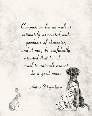 Digital Art - Compassion for Animals by Ruth Moratz