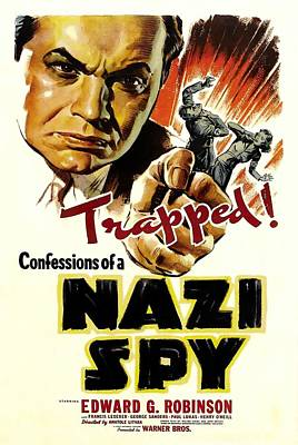 Royalty-Free and Rights-Managed Images - Confessions of a Nazi Spy, with Edward G. Robinson, 1939 by Stars on Art