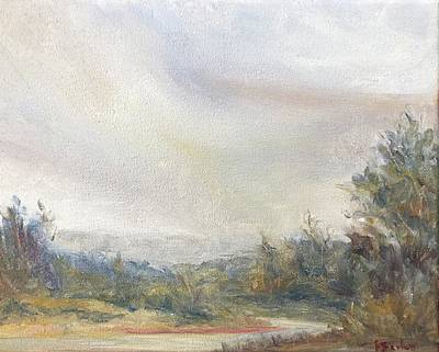 Painting - Connecticut River Valley by Rachel Barlow