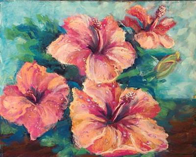 Pastel - Consider The Rosemallow by Esther Jones