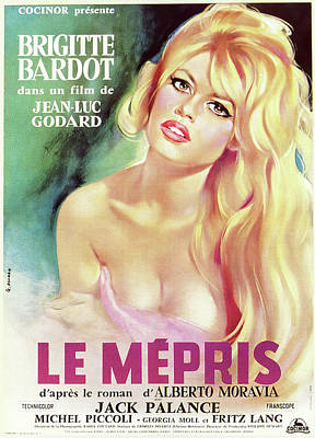 Royalty-Free and Rights-Managed Images - Contempt, with Brigitte Bardot, 1963 by Stars on Art