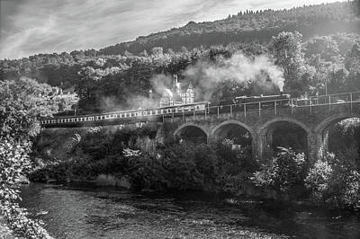 Whimsical Flowers - Conwy Valley Railway by Rob Hemphill