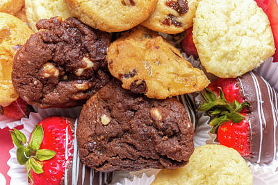Photograph - Cookies and Fruit by Erich Grant