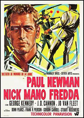 Royalty-Free and Rights-Managed Images - Cool Hand Luke, with Paul Newman, 1967 by Stars on Art