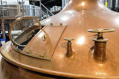 Car Photos Douglas Pittman - Copper Brew Kettle by Robert VanDerWal