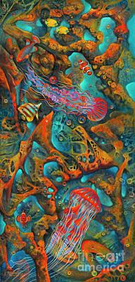 Parks - Coral Reef - 3D by Ricardo Chavez-Mendez