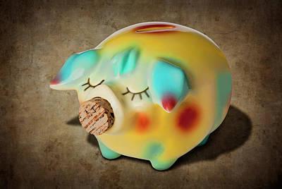 Photograph - Corky Pig by Kelley King