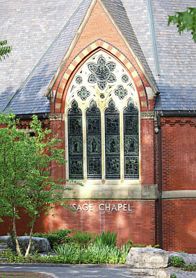 Classic Christmas Movies - Cornell University - Sage Chapel 2 by Allen Beatty