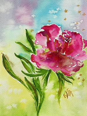 Painting - Cosiness by Evita Kristapsone