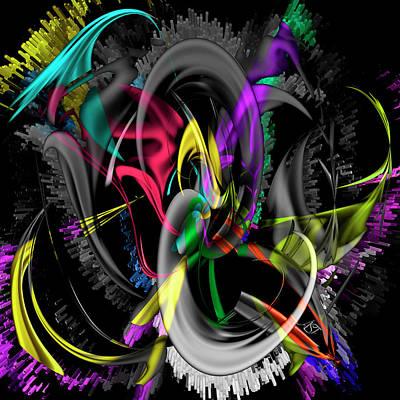 Digital Art - Cosmos by Asa Spang Frolund