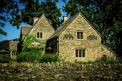 Photograph - Cotswold Cottage by Michael Osinski
