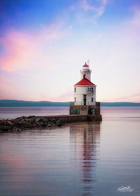 Photograph - Cotton Candy Wisconsin Point  by Joe Polecheck