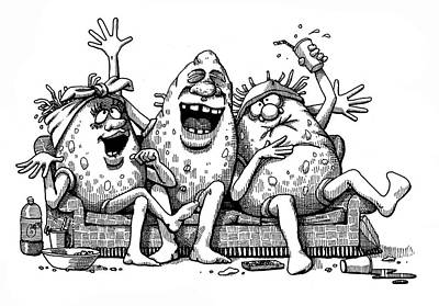 Soap Suds - Couch Potatoes by Dan Nelson