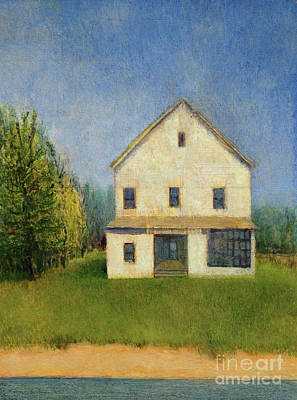 Painting - Country House by Mike Chambers