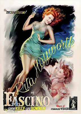 Royalty-Free and Rights-Managed Images - Cover Girl, with Rita Hayworth, 1944 by Stars on Art