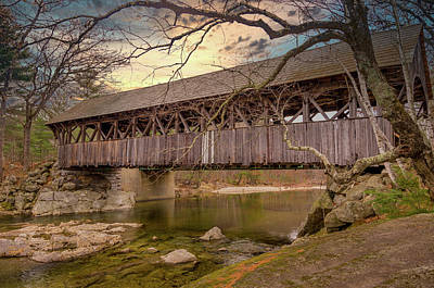 Photograph - Covered Bridge by Scott Thomas Images