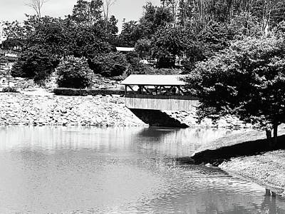 Photograph - Covered Bridge by Shonda Mcbride